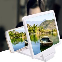 Mobile-Phone-Holder Magnifying Video-Amplifier Foldable 3D Glass HD Vision-Loss Anti-Radiation