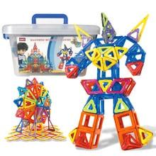 QWZ 110 adet DIY manyetik tasarımcı inşaat seti Mini manyetik yapı taşları modelleme bina oyuncaklar çocuklar için hediyeler