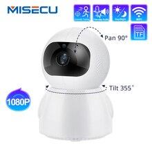 MISECU 1080P Home Securityกล้องIP Two Way Audio Wireless Miniกล้องสัตว์เลี้ยงการติดตามอัตโนมัติNight Visionกล้องวงจรปิดWiFi baby Monitor