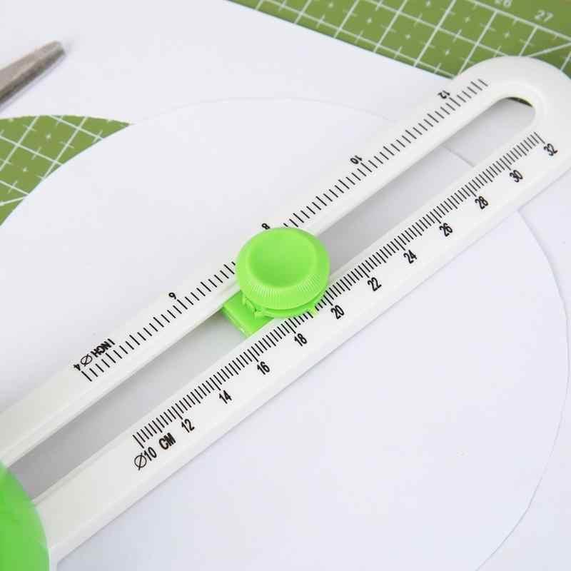 Tondo Lama di Taglio Patchwork Bussola Cerchio Cutter Scrapbooking Frese E Taglierine per Micro SIM per Fai da Te di Carta-Taglio