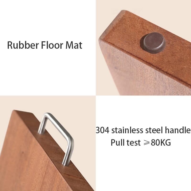 Xiaomi mijia huohou placa de cortar madeira cozinha placa de corte grosso ferramentas de carne vegetal acessórios cozinha placa de cortar - 5