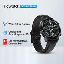 TicWatch Pro 3 LTE Wear OS Smartwatch Vodafone DE/UK Men's Sports Watch Snapdragon Wear 4100 8GB ROM 3~45 Days Battery Life