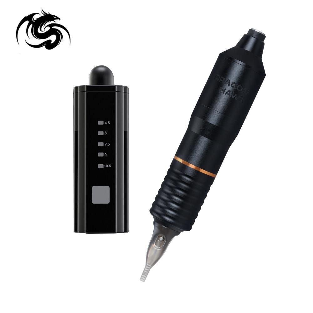 Powerful Permanent Make Up Machine With Mini Wireless  Battery Supply Power Tattoo Set Art Supply Kits