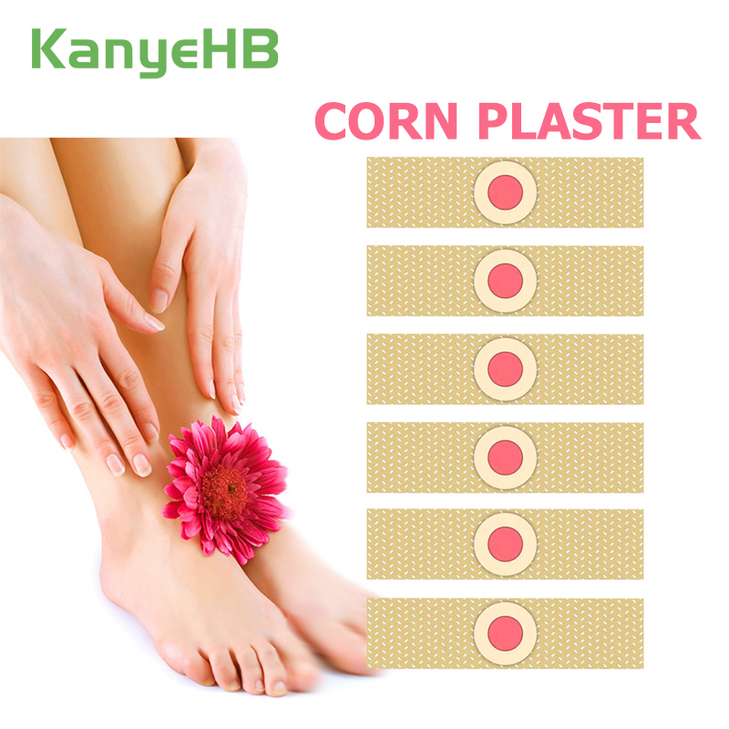 6pcs Foot Care Medical Plaster Foot Corn Removal Calluses Plantar Warts Thorn Plaster Health Care Pain Relief Pads Patches H044