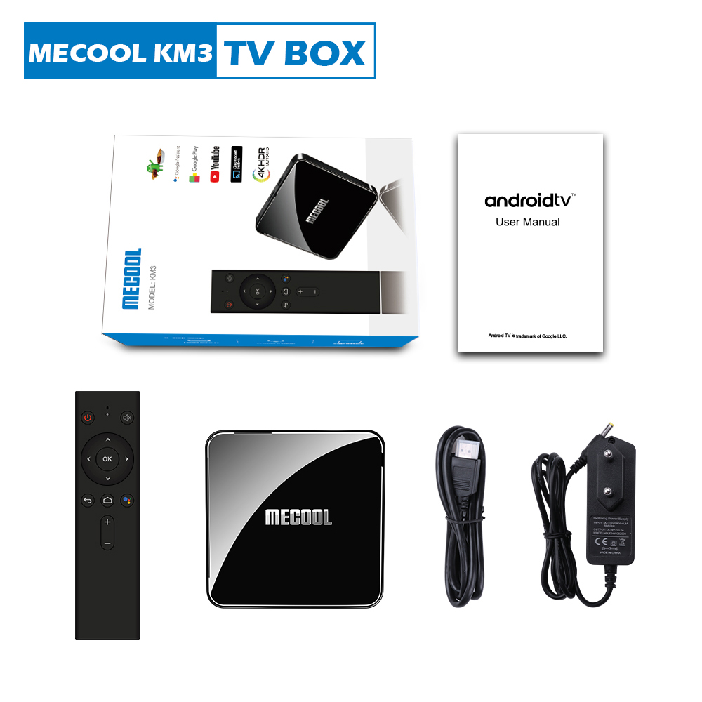KM3 Android TV BOX-Packing List