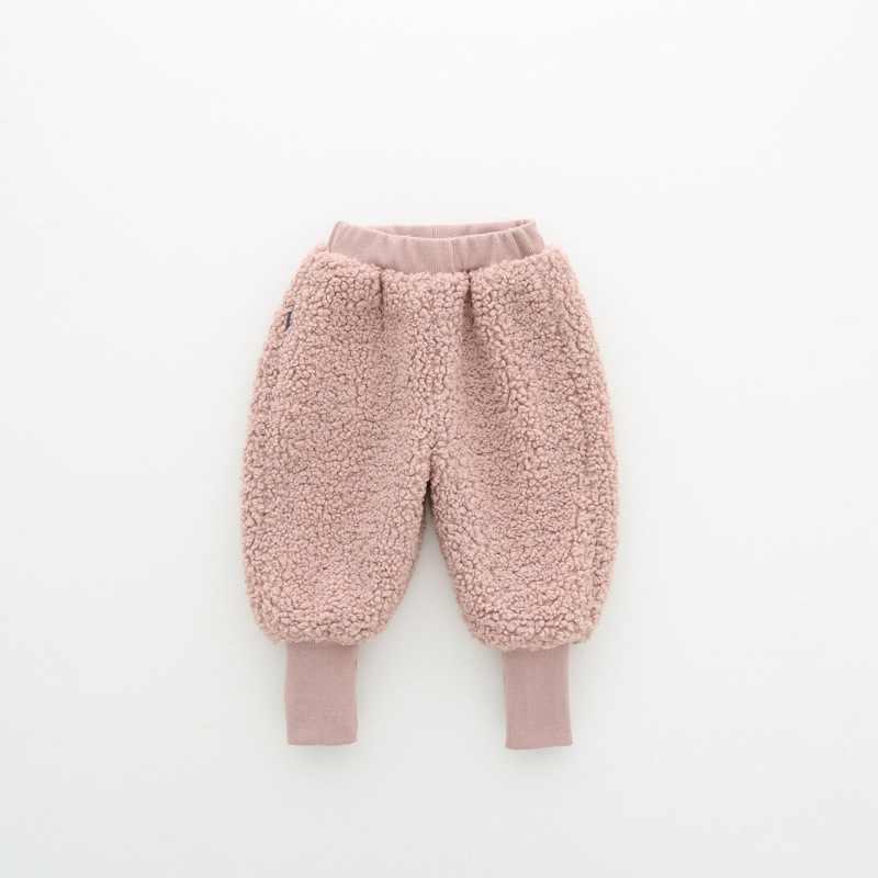 Croal cherie inverno meninos calças para crianças grossas calças longas velo veludo calças do bebê calças quentes legging roupas meninas do bebê