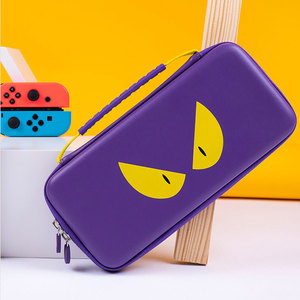 Image 5 - Nintend Switch Storage Bag Purple Devil Travel Case NS Hard Shell Cover Waterproof Case Bag For Nintendo Switch Lite Accessories