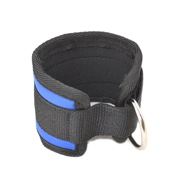 Sports Ankle Anchor Strap D-ring Multi Gym Cable Attachment Thigh Leg Pulley Strap Lifting Fitness Tubing Strength Ahr029