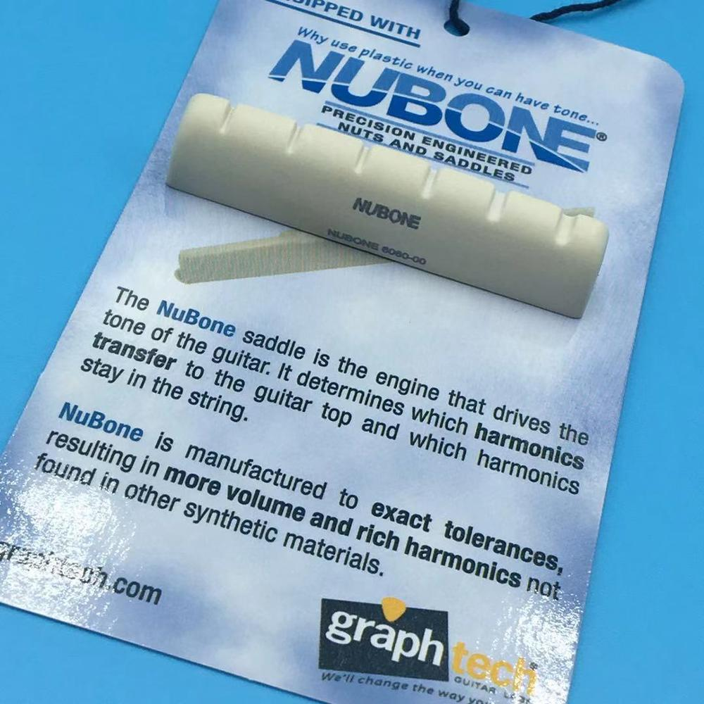 GRAPH TECH  Guitar Nut NUBONE BC 6060-00 For LP EPI Electric Guitar Part,Made In Canada