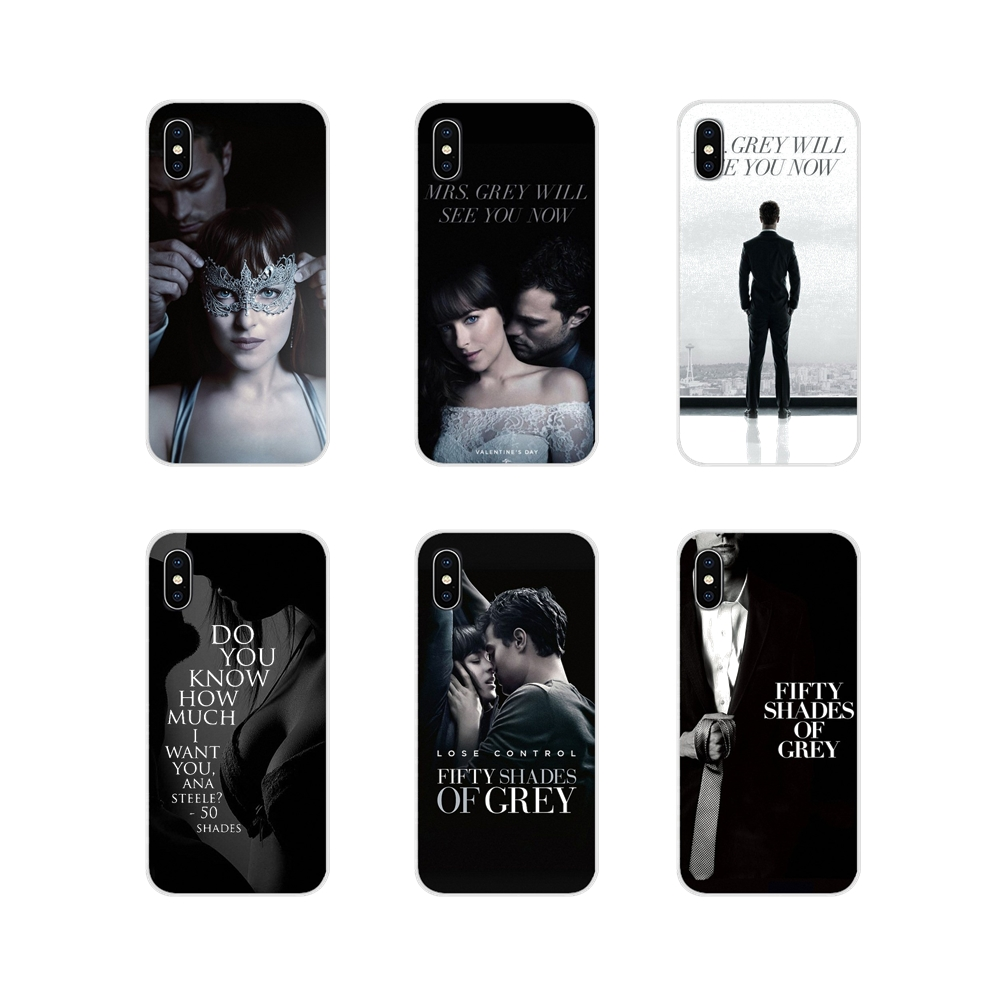 fashion <font><b>50</b></font> Fifty <font><b>Shades</b></font> <font><b>Of</b></font> <font><b>Grey</b></font> <font><b>Sex</b></font> Silicone Phone Shell Case For Samsung Galaxy A3 A5 A7 A9 A8 Star A6 Plus 2018 2015 2016 2017 image