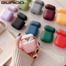 Original For Apple Airpods 1 2 Wireless Bluetooth Earphone Case Colorful Candy For Apple AirPods New PC Hard Cute Cover Box Case
