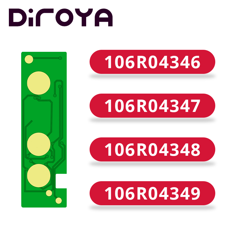 106R04346 106R04347 106R04348 106R04349 Toner Chip Voor Xerox Phaser B210 B210DNI Workcentre B205 B215 B205NI B215DNI