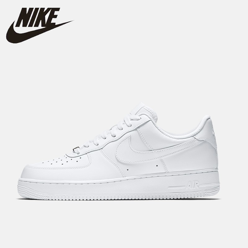 Nike Air Force 1 '07 New Arrival Men Skateboarding Shoes Sneakers Air Cushion Light Outdoor Sports Sneakers #315122