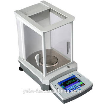 SY103 100g 1mg sensitive analitic weighing balance with top pan image