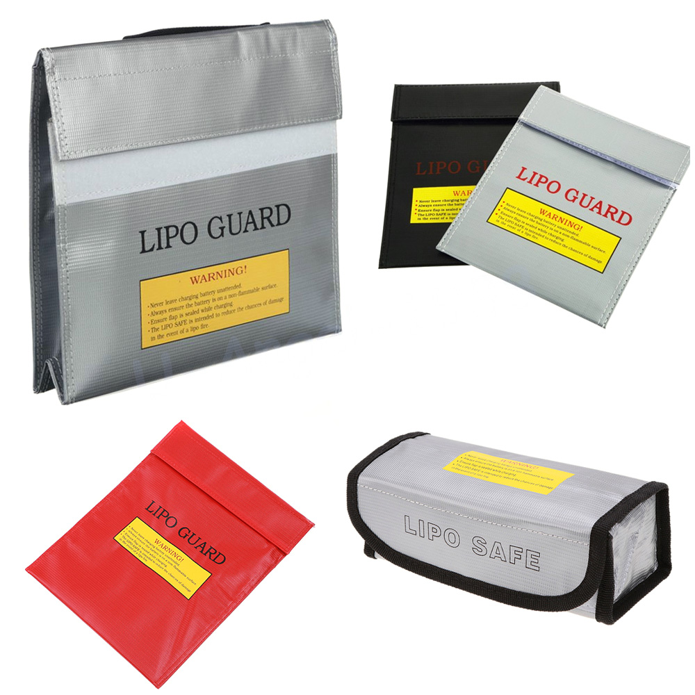 High Quality RC LiPo Battery Safety Bag Safe Guard Charge Sack Charge Sack Battery Protection Bag For LiPo Battery