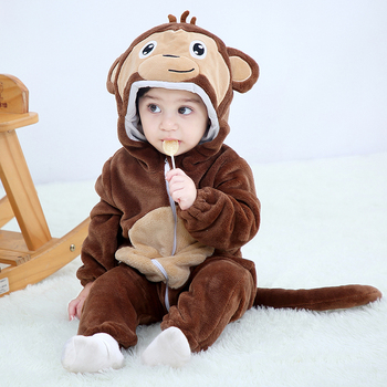 butterfly kids clothes romper set baby boys girls jumpsuits overalls winter animal cosplay shapes halloween christmas costume Animal monkey Kigurumis Newborn Baby Romper Winter Warm Infant Baby Clothing Outfit Boys Girls Onesie Cosplay Costume