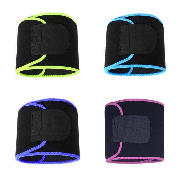 1PC Neoprene Waist Trimmer Belt Weight Loss Sweat Band Wrap Fat Tummy Stomach Sauna Sweat Belt Jogging Losing Weight Wrap