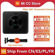 Xiaomi-cámara panorámica Mijia 360 °, grabación de vídeo 3,5 K, esférico, clasificación IP67, WiFi, Bluetooth, minicámara deportiva