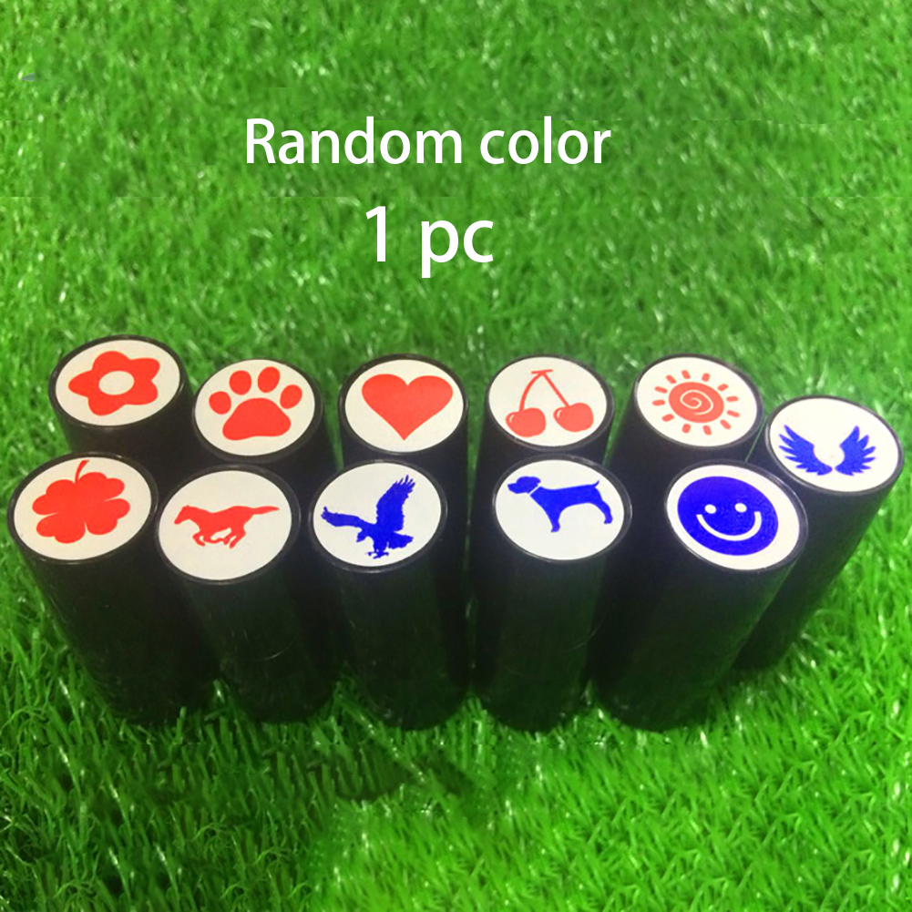 Quick Dry Accessories Tool Gift Golfer Prize Long Lasting Golf Ball Stamper Symbol Souvenir Seal Marker Club Cute Print