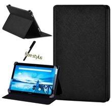 Кожаный противоударный чехол для планшета lenovo smart tab p10