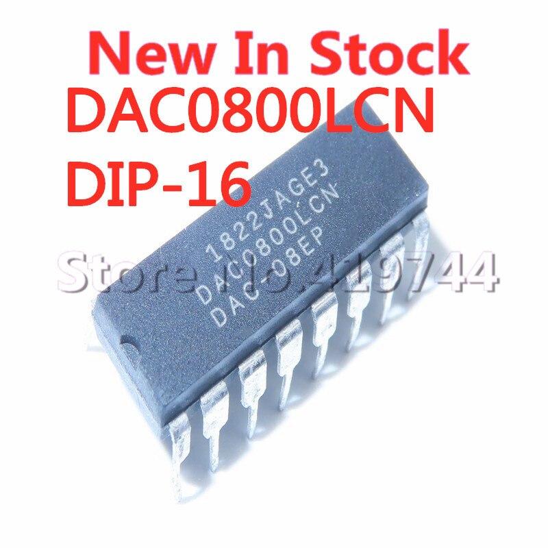 5 шт./лот DAC0800LCN DAC0800 DIP-16 цифро-аналоговый конвертер в наличии новый оригинальный IC