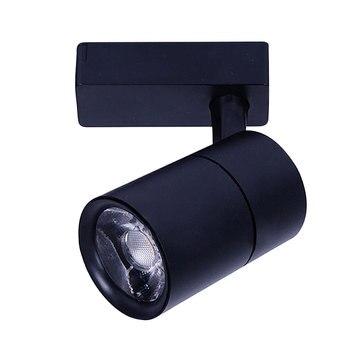 AC220V 12 Вт Светодиодный светильник алюминиевый потолочный рельсовый светильник Точечный рельсовый лампы для прожектора алюминиевый COB для д...