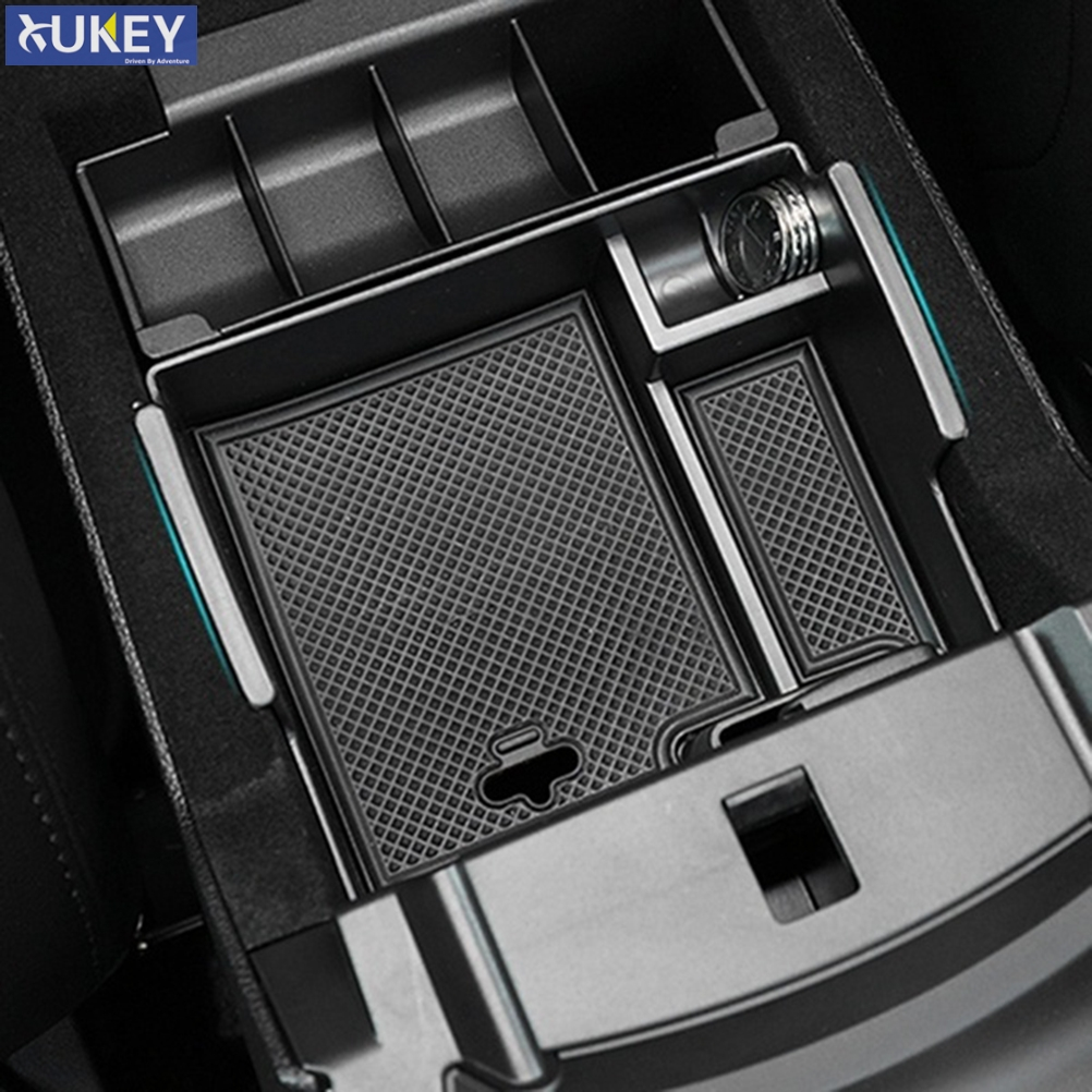 For Ford Explorer 2011 2012 2013 2014 2015 2016 2017 2018 Armrest Storage Box Coin Tray Center Console Organizer Case Container