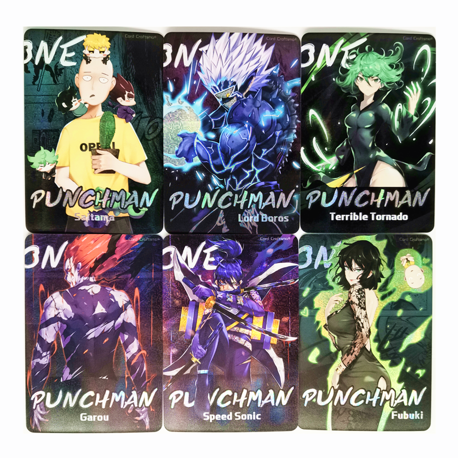 35pcs/set ONE PUNCH MAN Toys Hobbies Hobby Collectibles Game Collection Anime Cards