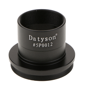 Image 3 - Metal 1.25 to T2 / 1.25 inch Eyepiece Insertion to M42 Prime Telescope T Adapter #5P0012