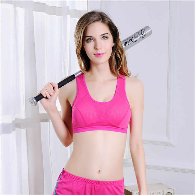 Venda quente das mulheres yoga sutiã esportivo push up estiramento ciclismo workout tanque superior curto correndo sutiã esporte top esportes camiseta para a aptidão