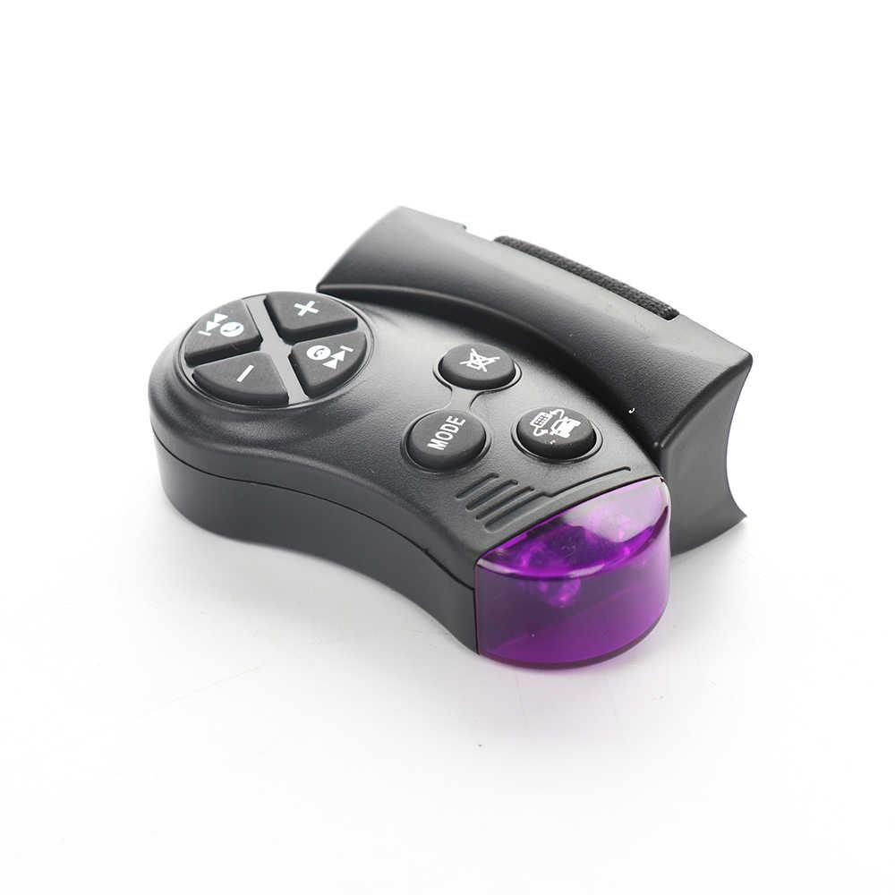 1 Uds. Botón de volante Universal llave de Control remoto para la navegación del coche reproductor de música Multimedia Dvd Radio de coche Android