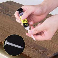 цена на Household Strong Adhesive Universal AB Super Glue Epoxy Resin Liquid Glue Repair Glue For Metal Ceramics Plastic Glass Rubber