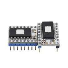 цена на 128 Microstep SD6128 V1.1 Stepstick Stepper Motor Driver Module with Heatsink for 3D Printer SP99