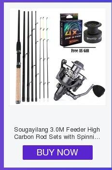 Sougayilang 2.1m vara de pesca e carretel