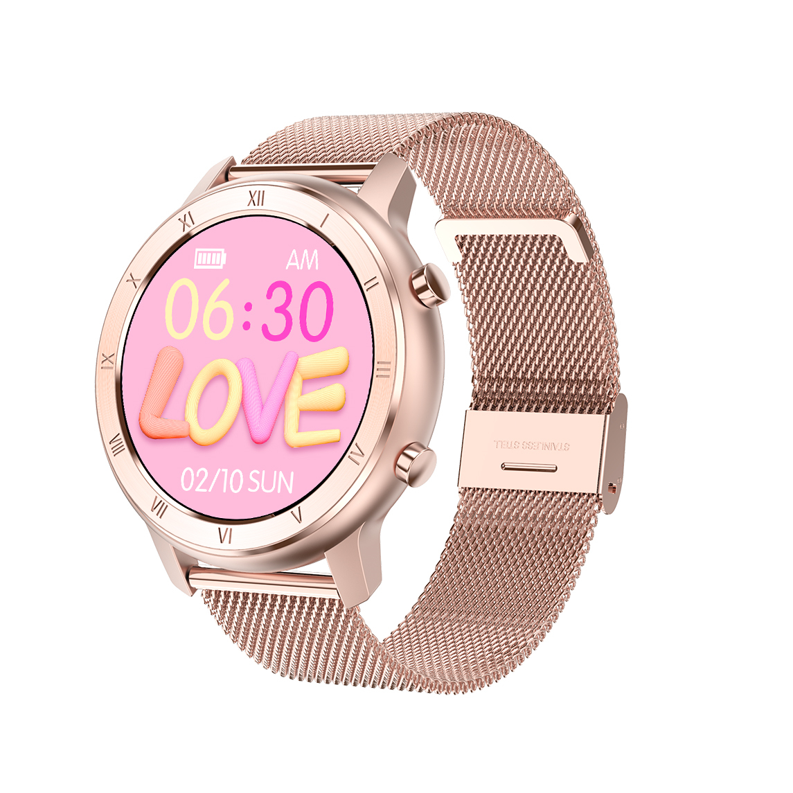 VOHE ECG Smart Watch 2020 Women Smartwatch IP68 Waterproof Blood Pressure Monitor Fitness Bracelet Band For Android Apple Xiaomi