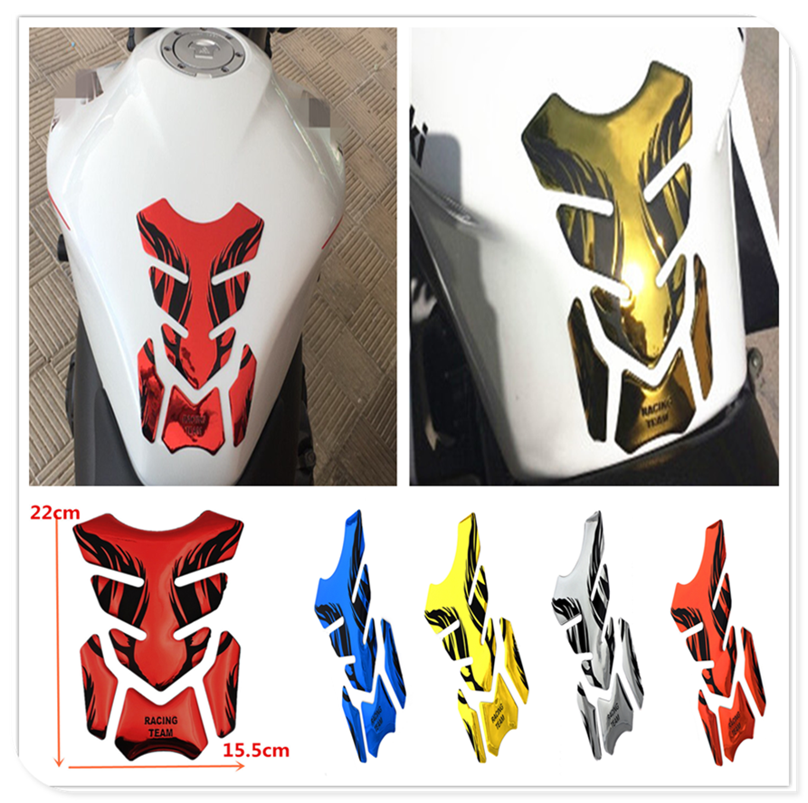 2019 Motorcycle Fuel Oil Tank Pad 3D Decal Cover Sticker For Kawasaki ZX7R ZX7RR ZX9 ZZR1200 ER-5 GPZ500S EX500R NINJA