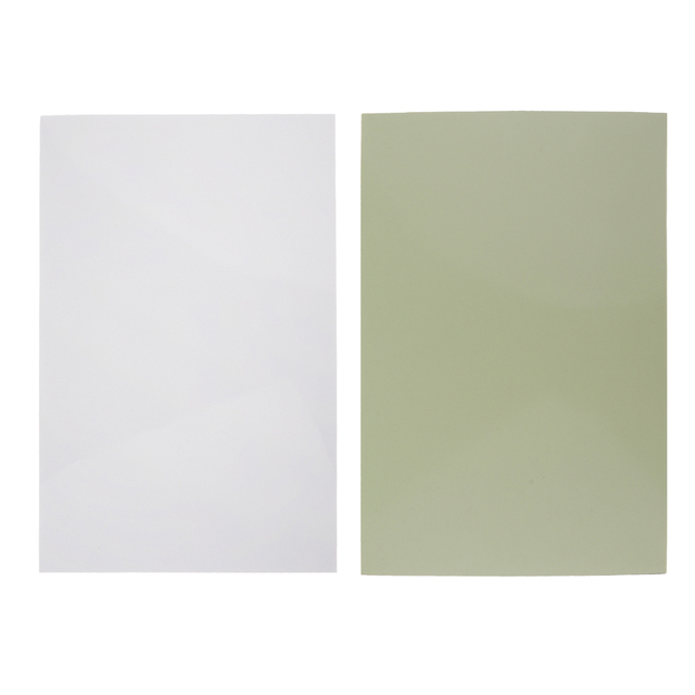 Unfinished Plastic 3-Ply Guitars Bass Pickguard Material Scratch Plate Blank Sheet