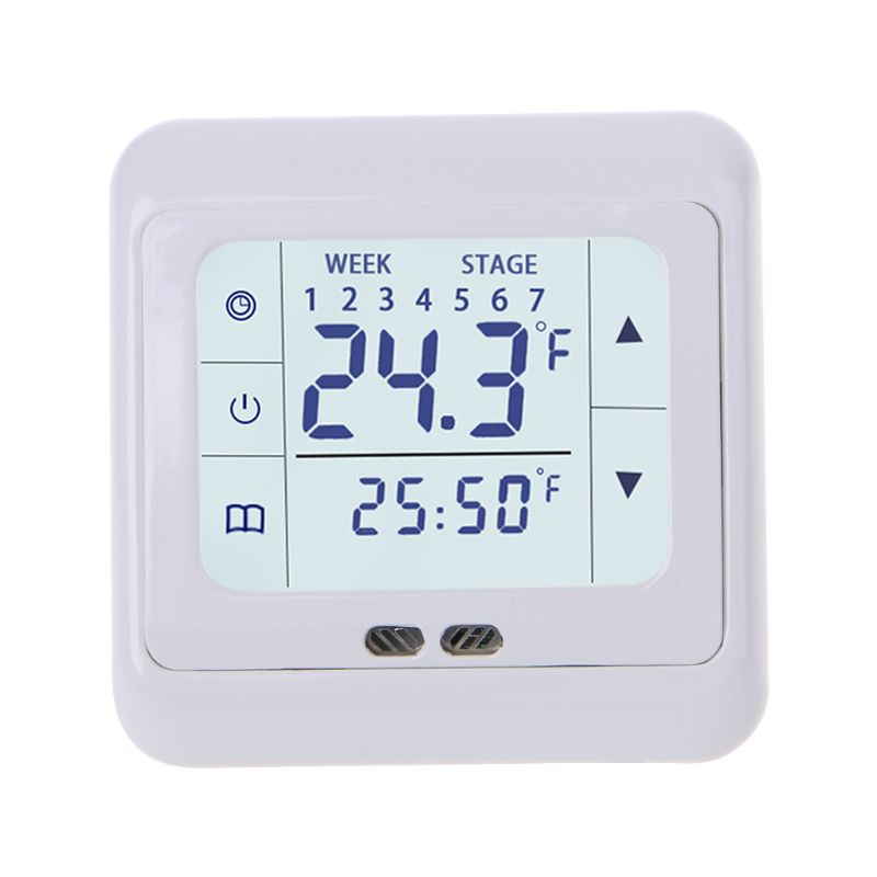 Thermoregulator Touch Screen Heating Thermostat For Warm Floor,Electric Heating System Temperature Controller With Kid Lock