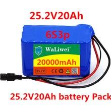 Аккумулятор 24 в 20 Ач 6S3P 18650 литиевая батарея 24 в электрический велосипед мопед/Электрический/литий-ионный аккумулятор