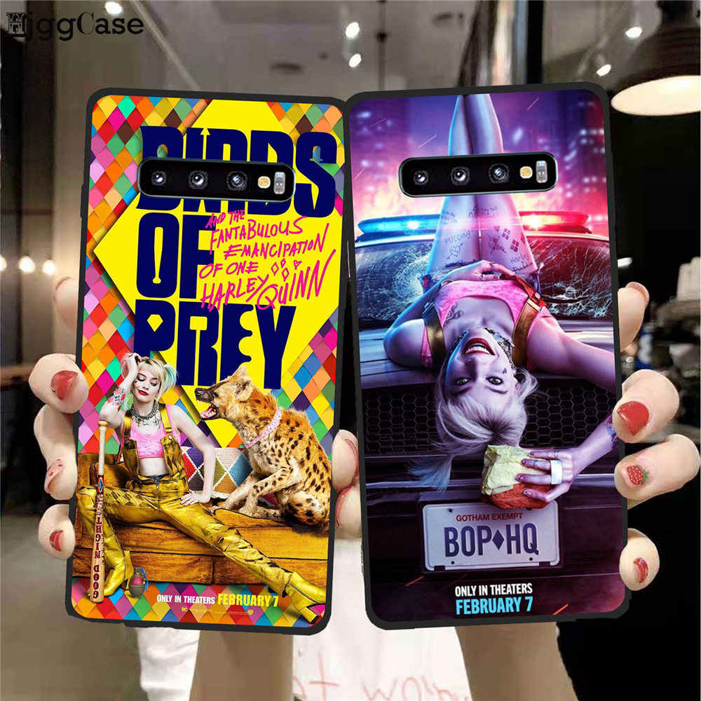 Birds Of Prey Harley Quinn Film Poster 2020 For Samsung Galaxy S8 S9 S10 S11 Plus Lite Soft Silicone Tpu Black Phone Case Cover Aliexpress