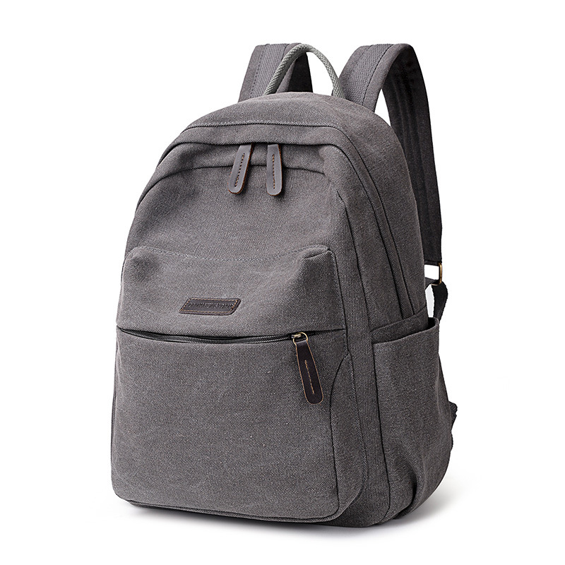 Canvas Backpack Women High Quality Large Leisure Multifunction Back Pack Female Bagpack Laptop New School Bag Backbag Girls