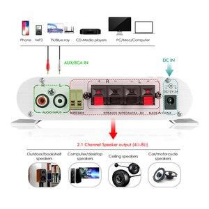 Image 4 - مضخم صوت Douk Audio Mini بـ 2.1 قناة, مضخم صوت ستيريو ، مضخم صوت للمنزل/السيارة/مكبر الصوت البحري لمكبرات الصوت