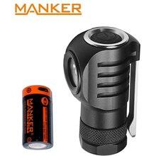 Manker E04 550 люмен CREE XPL светодиодный фонарик с USB перезаряжаемой батареей 16340