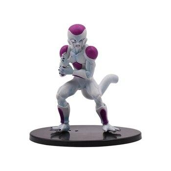12cm Dragon Ball Z Freezer PVC Action Figures Super Saiyan Goku VS Freeza Dragonball Kai Figures Collection Model Dolls цена 2017