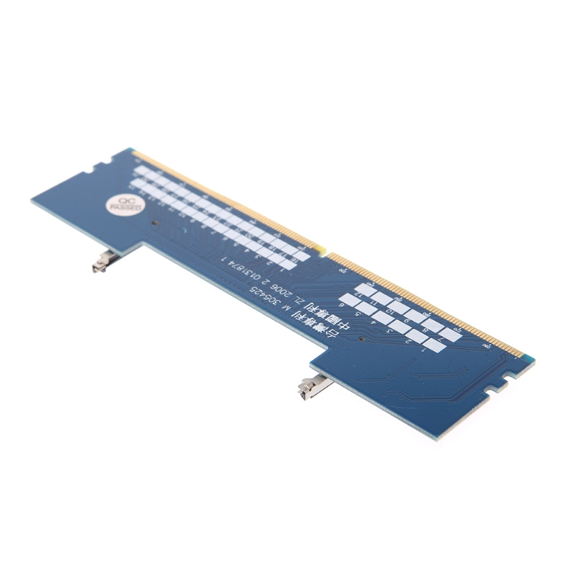 Laptop DDR4 to Desktop Adapter Card Memory Tester SO DIMM to DDR4 Converter 090F 5