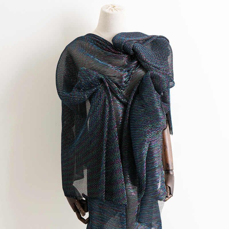 Diseñador de moda Crepe glitter tela brillante suave para vestido de fiesta boda y decoración de Navidad 45*150 cm/100*150 cm/pieza W45