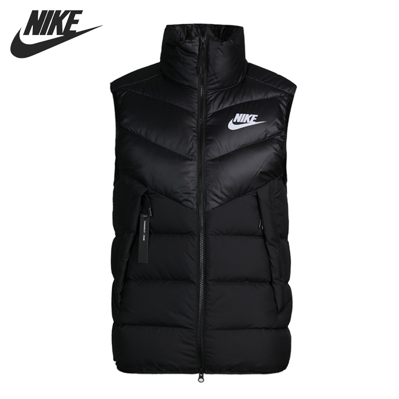 Original New Arrival  NIKE Sportswear Windrunner Men's Down Coat Vest Warm Down Jacket Sportswear