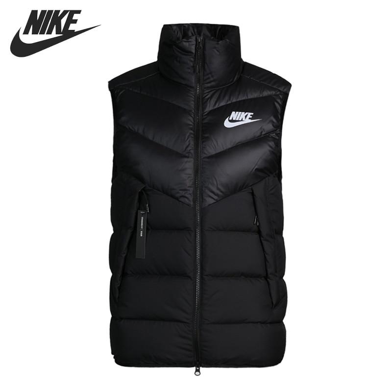 Original New Arrival  NIKE Sportswear Windrunner Men's Down Coat Vest Warm Down Jacket Sportswear