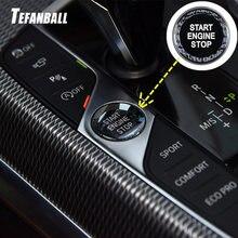 Крышка кнопки запуска двигателя автомобиля Кристальный стиль