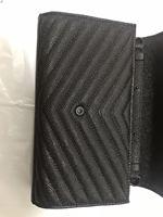 2020 senior brand designer high quality chain slant across real leather bag multi grid wallet slant across leather bag